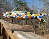 Art Sculpture, Calico Catfish , Folk Art Cat Fish