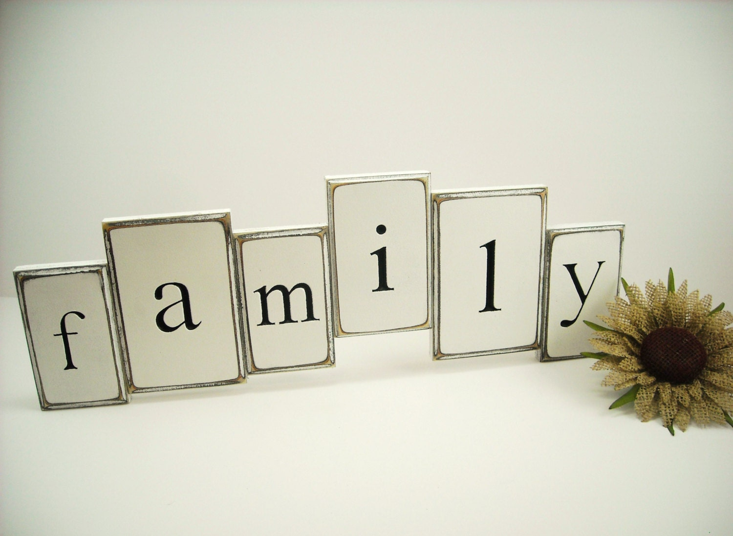 wood letter wall decor family sign by westmountaincrafts On family sign wall decor