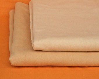 "Swiss Cotton Knit - Waldorf Doll Skin Fabric 65"" x 20"""