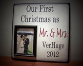 Memories Photo Frame - Fishing with Grandpa Christmas Picture Frame