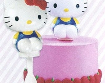 Hello Kitty Cake Topper Hello Kitty Birthday Party Hello Kitty Cake Kit