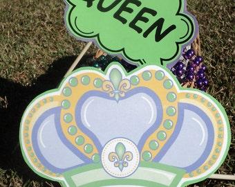 Mardi Gras Photo Props