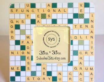 Dysfunctional Family CrossWord Puzzle - Picture Frame