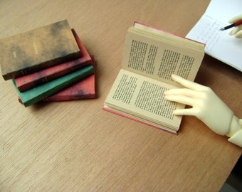 Ancient style Book for SD or MSD sized BJD