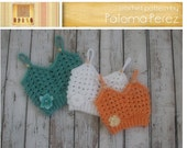 INSTANT DOWNLOAD - Baby Granny Tank Top - Crochet Baby Shirt - Baby Tan Top Crochet Pattern