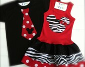Custom Boutique Matching Brother and Sister Outfits Boys Tops Girls Dresses Baby Girl Bro& Sis Sets  Available 0-3 months through Size 6/8