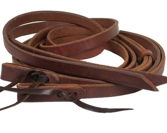 Split Reins Harness Leather Oiled