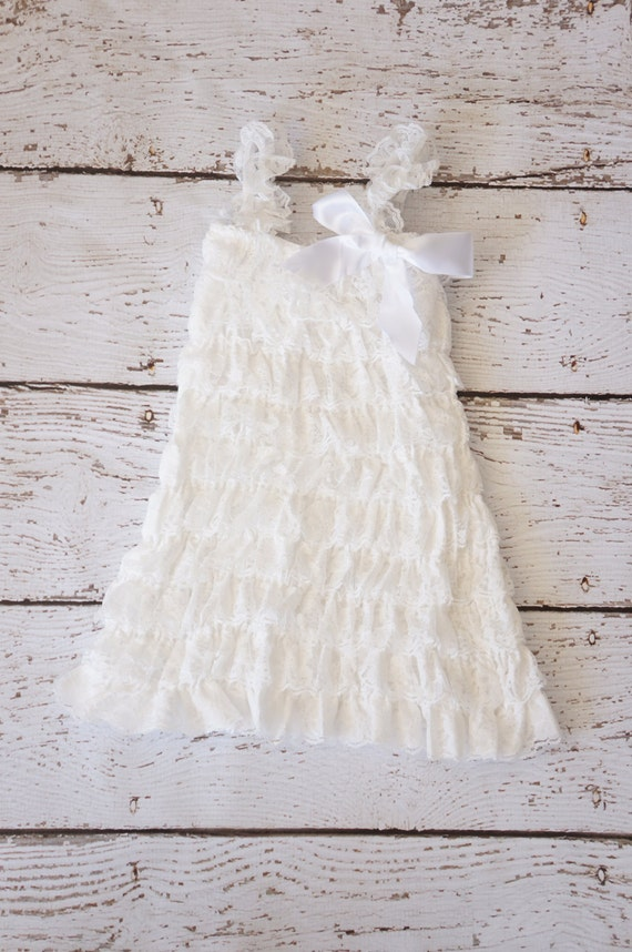 White Lace Dresses For Girls Lace Baby Dress White Dress