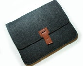 Simple --- charcoal iPad Case (Custom made any size)