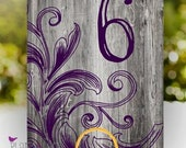 10 Wood Table Numbers