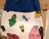 barbapapa kid's drawstring backpack