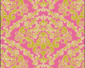 1 yard of Dreaming in French Green Mademmoiselle by Pat Bravo for Art Gallery Fabrics
