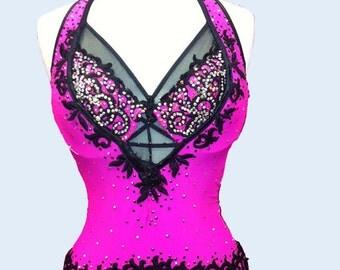 Pink Dance Latin  Dress