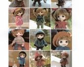 13 Knitting PATTERNS for Pukifee / Lati Yellow