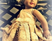 Lace Couture Dress for 18in Dolls