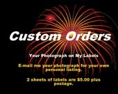 Custom Order Return Address Label