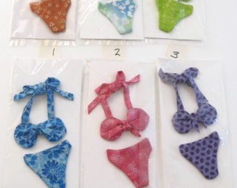 Decorative  Magnets Bikinis Handmade Assorted Colors