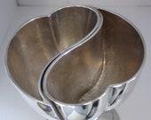 Interlocking Silver Heart Goblet