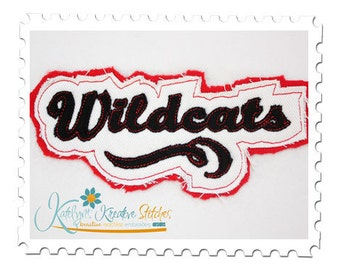 Wildcats - Distressed Applique