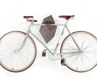 """Oak Wood Bike Hanger """"Elk"""" by Woodstick Ltd."""
