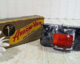 Vintage Arrow 35 mm Slide Viewer - Self Illuminating Battery Powered - Original Box Plus 2 New C Batteries