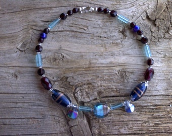 MISC- beaded necklace 18 inch