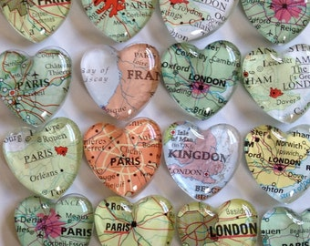 100 Wedding  favors magnets (100) individually wrapped and ready to gift