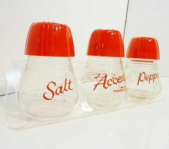 accent seasoning spice salt pepper shaker range set by ...