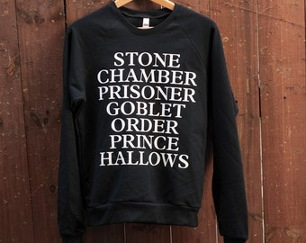 Harry Potter Sweatshirt - Made in USA by So Effing Cute - The Original HP Sweater!
