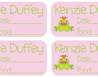 27 Removable (Single Use) Waterproof Baby Food labels