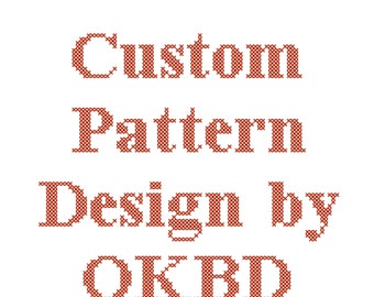 Custom Design/Custom Cross Stitch Pattern Design/Custom Design Cross Stitch Pattern/Photo Conversion Cross Stitch Pattern/Digital Pattern