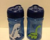 Personalized 'Dinosaur'  Mini Water Bottle