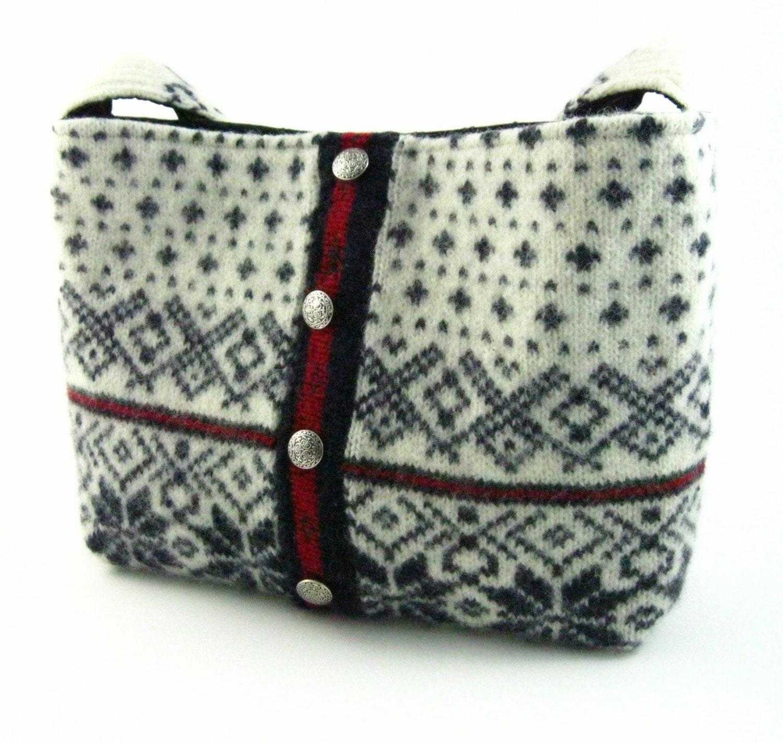 Wool Sweater Purse Pattern 118
