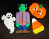 SALE Set of 4 Halloween Magnets