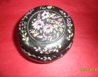 Found in France - Wooden Pot - Trinket Box