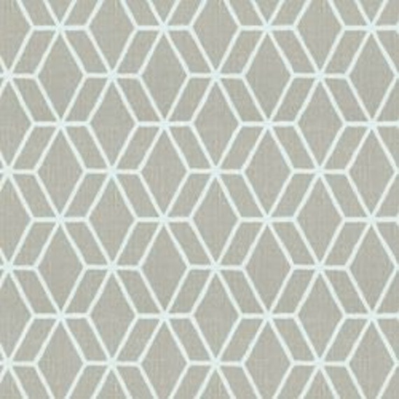 "Designer Home Decor Fabric - Braemore ""Bethe"" in Pearl - 1 yard"