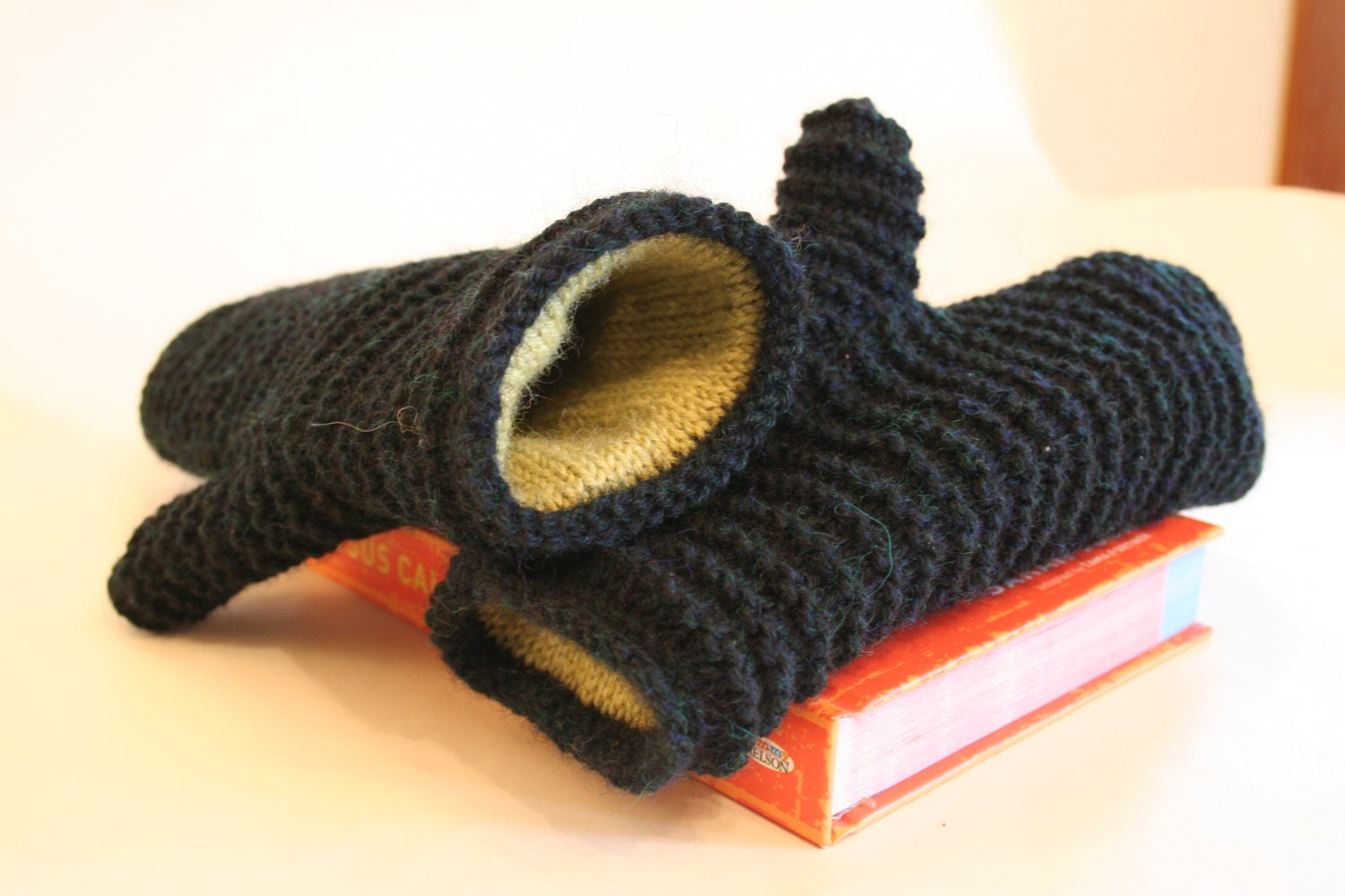 Mens Mittens Knitting Pattern : Double Lined Mittens Knitting Pattern