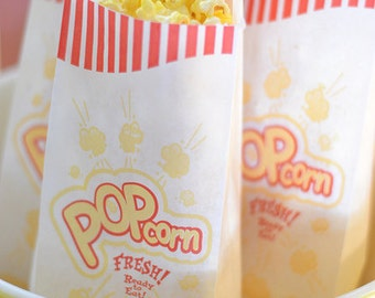 50 New-Nostalgic Popcorn Bags