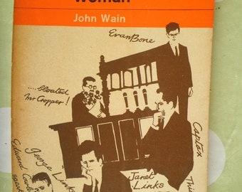 John Wain A Travelling Woman Penguin orange paperback 1963 ed.