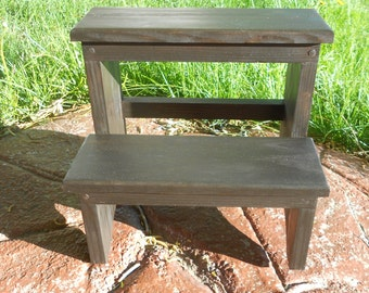 Shaker Inspired Unfinished Wooden Stool By Emmersonwoodworks
