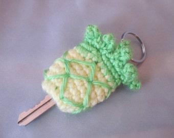 Key Cap, Key Chain, Key Pouch, Pineapple