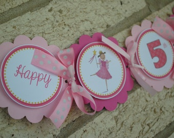 NEW -Pinkalicious Word Banner