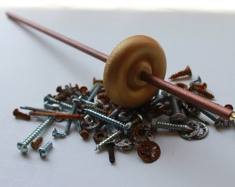 Steampunk Top Drop Spindle