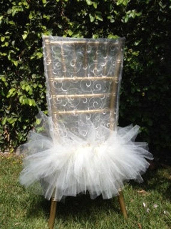 Ballerina Bride Chair Cover, Bridal Shower Decoration, Wedding Decoration