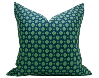 Betwixt pillow cover in Peacock/Seaglass
