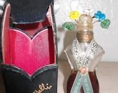 SCHIAPARELLI Shocking  1936 perfume and leather case