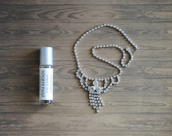 Society Page Perfume Oil, Roll On Perfume Freesia, Musk, Roses Fragrance, Retro Smell