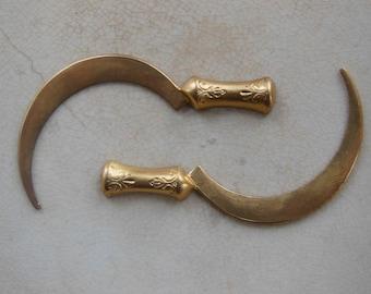 Medieval Sickle ( 2pc)