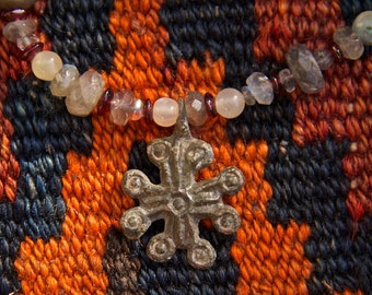 Ancient Byzantine Cross Necklace