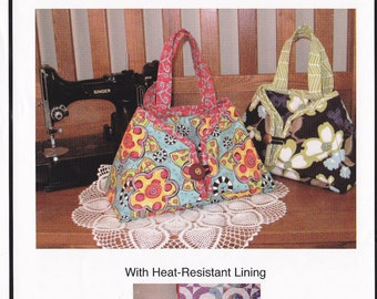 Sewing Pattern - Iron carrier holder - Caddy Pad - includes heat resistant fabric - travel iron tote / pad Sister's Common